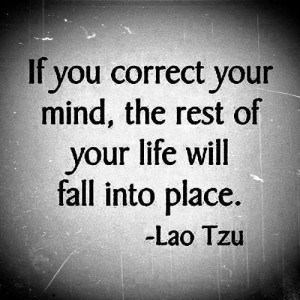 If-you-correct-your-mind - law of attraction quote