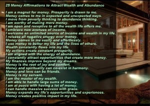 attract wealth and abundance