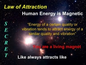 Learn how to use law of attraction