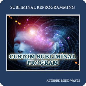 Custom Made Subliminal MP3