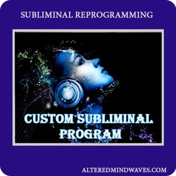Custom made subliminal program