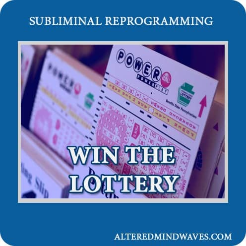 Win the Lottery Subliminal Program