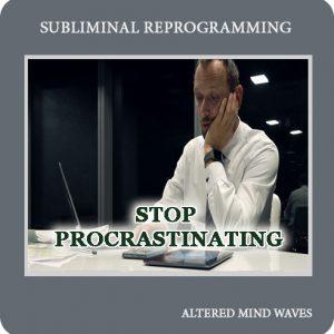 Stop Procrastinating Subliminal Hypnosis