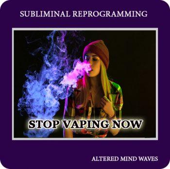 Stop Vaping Subliminal